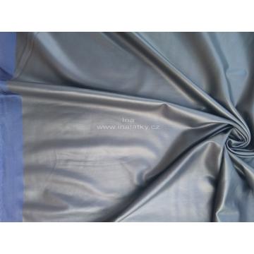 Imitace kůže tmavě modrá metráž šíře 150cm