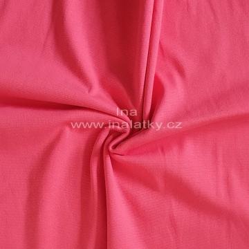 Náplet bavlna/elastan lososová 2x72cm