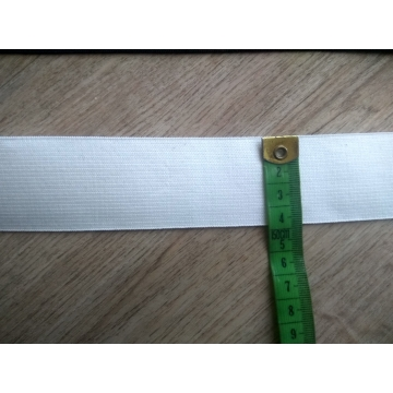Guma šíře 40mm bílá