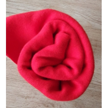 Náplet bavlna/elastan červená 2x72cm