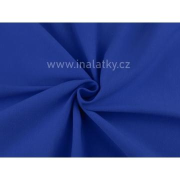 Teplákovina 240g/m2 královsky modrá