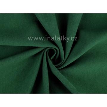 Teplákovina 290g/m2 lahvově zelená