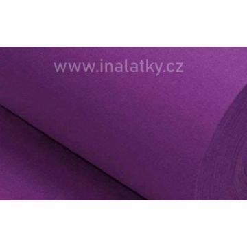 Náplet bavlna/elastan fialová 2x72cm