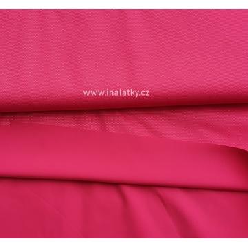 Letní softshell jednobarevný - růžová