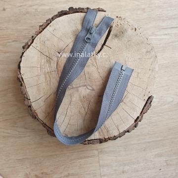 Zip kostěný dělitelný 45cm