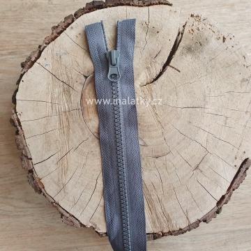 Zip kostěný dělitelný 50cm