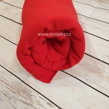 ÚPLET BAVLNA/ELASTAN 200G/m2 červená