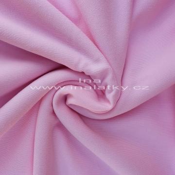 Teplákovina 240g/m2 baby růžová