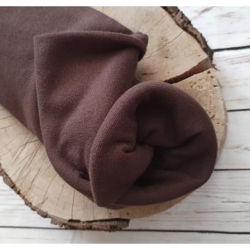 Náplet bavlna/elastan hnědá...