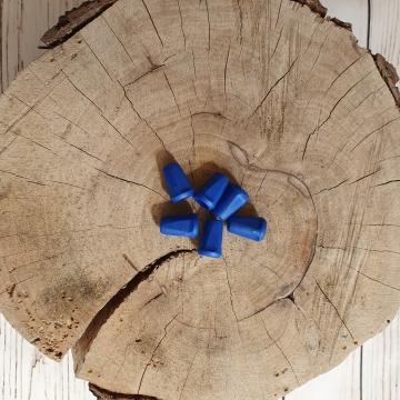 Koncovka na šňůrky modrá