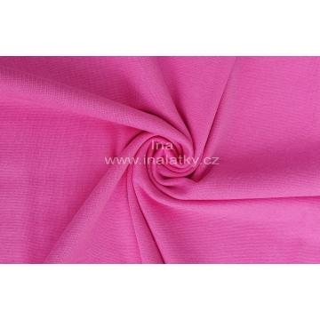 Náplet bavlna/elastan  2x72cm růžová